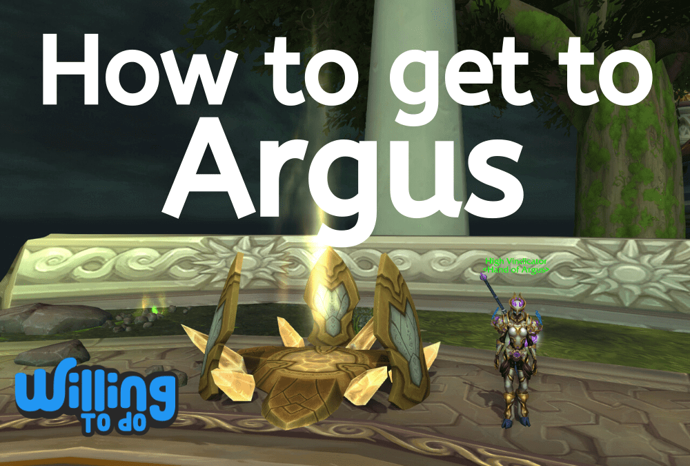 How to get to Argus